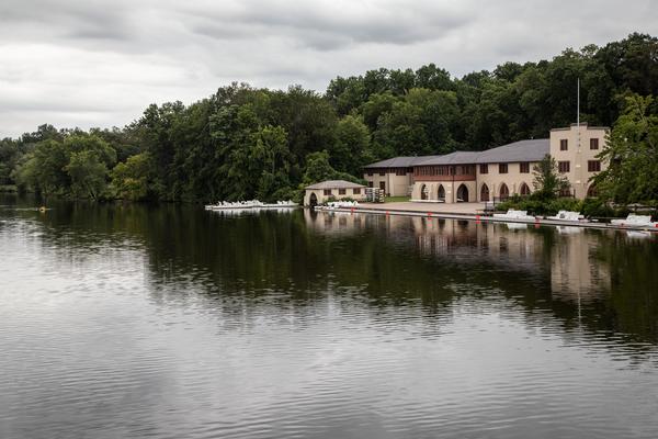 Carnegie Lake  Rowing Club (Color) Photography Art   Alina Marin-Bliach Photography/alinabstudios LLC