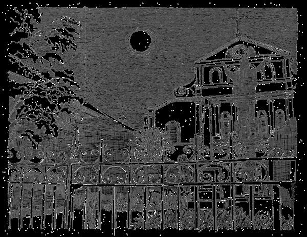 St. Louis Cathedral Art   bharris Art, LLC