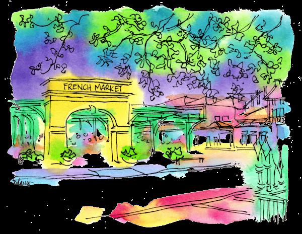 French Market Art   bharris Art, LLC