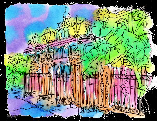 Jackson Square Art   bharris Art, LLC