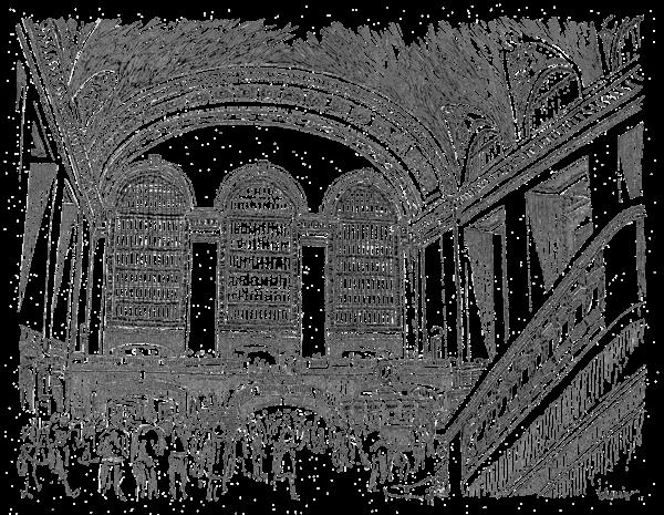 Grand Central Station Art | bharris Art, LLC