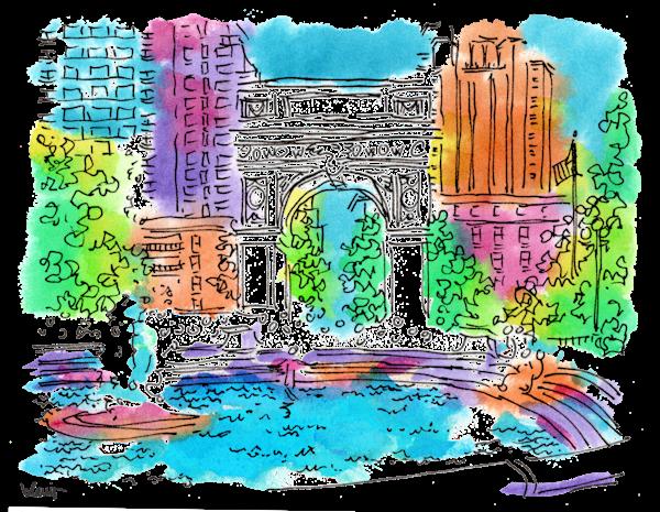 Washington Square Art | bharris Art, LLC