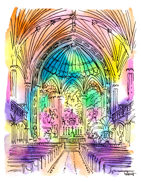 St. Patrick's Church Art | bharris Art, LLC