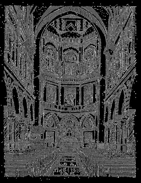 Immaculate Conception Church Art | bharris Art, LLC
