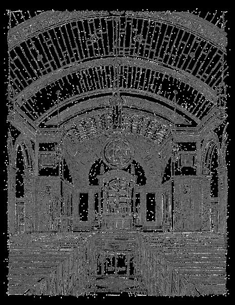 Chapel Of The North American Martyrs Art | bharris Art, LLC