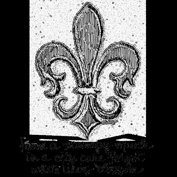 Fleur De Lis Art | bharris Art, LLC