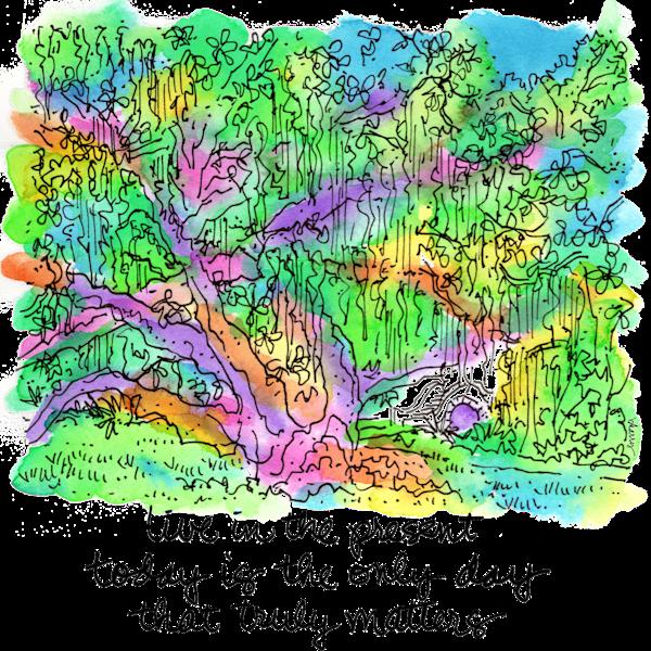 City Park Oak Art | bharris Art, LLC