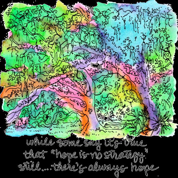 Old Oak Grove (Fountain) Art | bharris Art, LLC