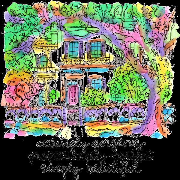 """""""Anne Rice House""""  Art   bharris Art, LLC"""