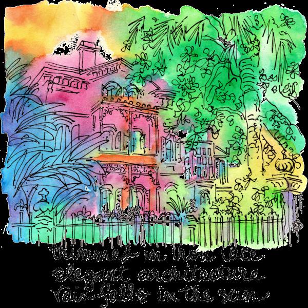 Carroll Crawford House Art   bharris Art, LLC