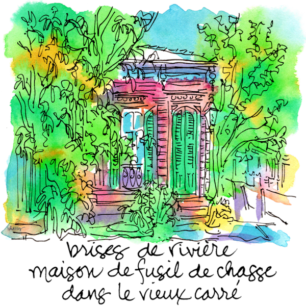 Shotgun House (French Quarter) Art   bharris Art, LLC