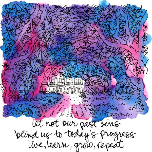 """After Dark"":  Whitney Plantation Art | bharris Art, LLC"