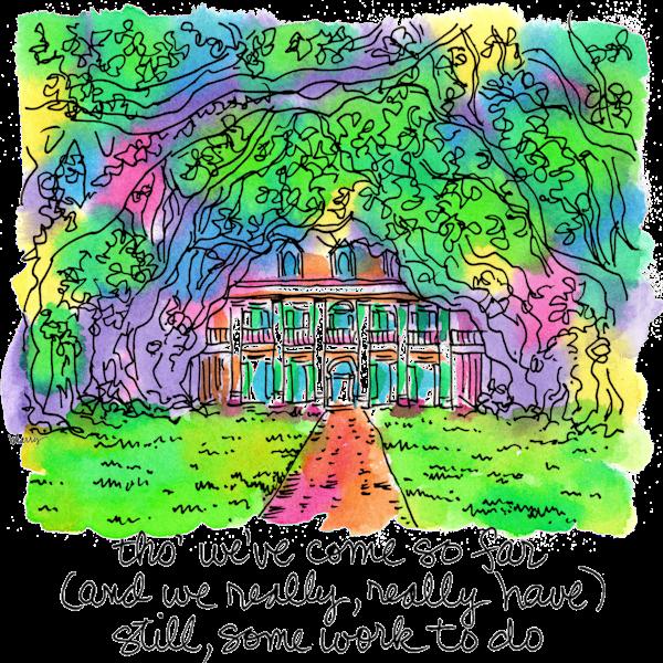 Oak Alley Plantation Art | bharris Art, LLC