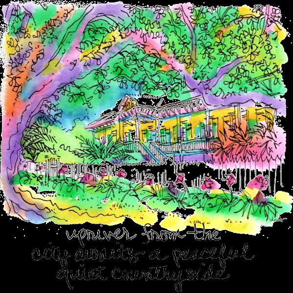 Laura Plantation Art | bharris Art, LLC