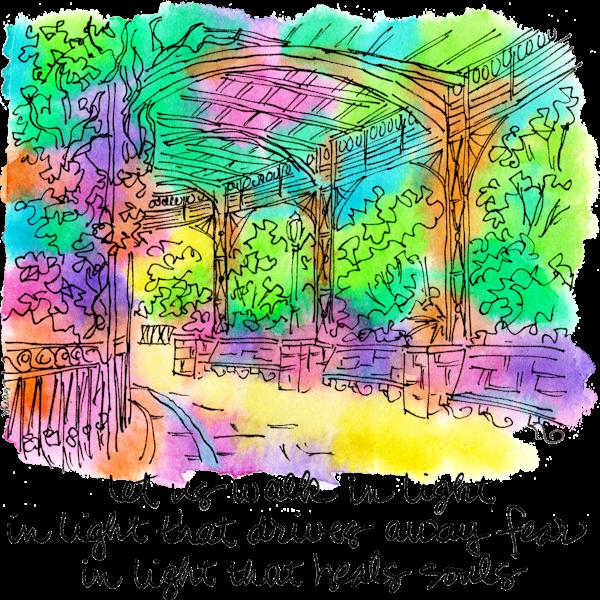 Conservatory Garden Art | bharris Art, LLC