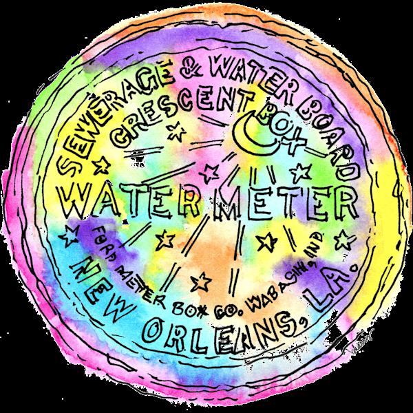 Watermeter Cover Art | bharris Art, LLC