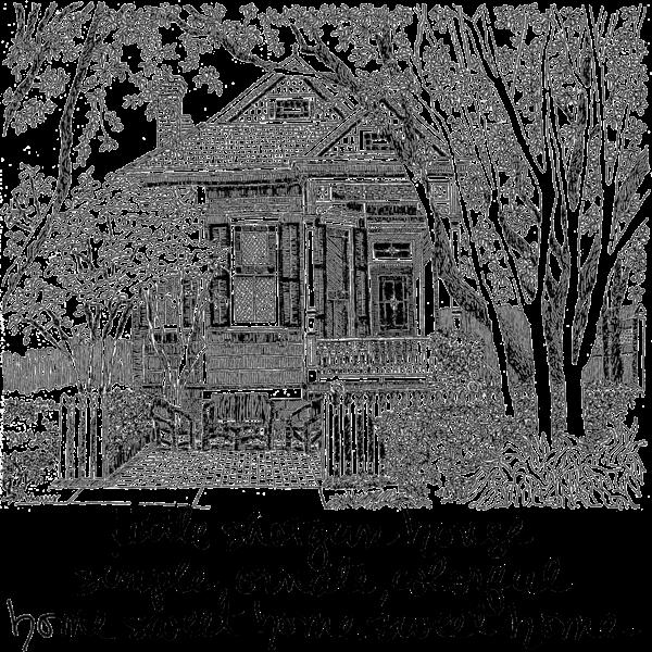 Shotgun House (Uptown) Art | bharris Art, LLC