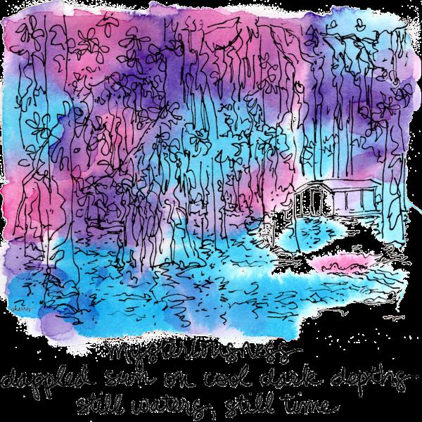 """After Dark"":  Honey Island Swamp Art | bharris Art, LLC"