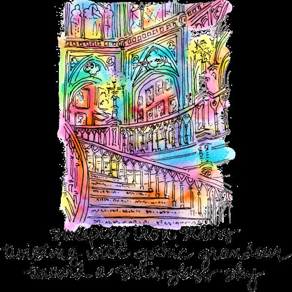 Old Louisiana State Capitol Art | bharris Art, LLC