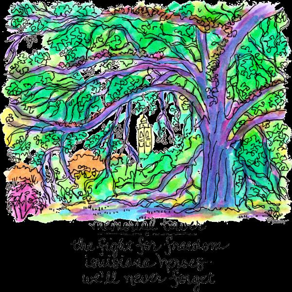 Memorial Tower Art | bharris Art, LLC