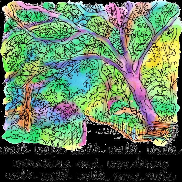 Central Park  Art | bharris Art, LLC