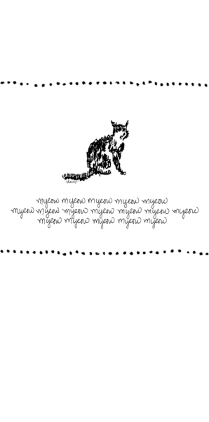 Haiku Kitty Art | bharris Art, LLC