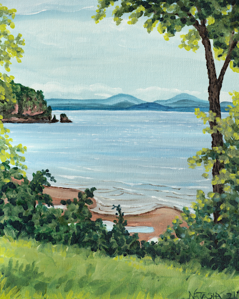 'Lone Rock Point' Art for Sale