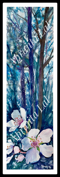"""""""Blooming Forest"""" in Watercolors by Aprajita Lal"""