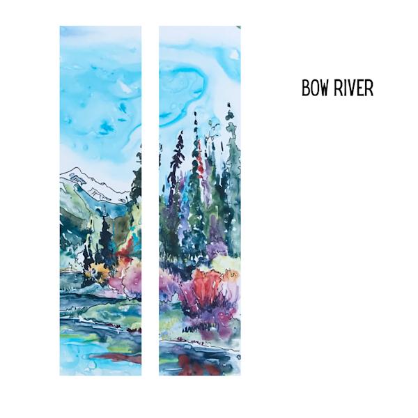 Bow River, Banff Alberta | Karen Bishop Artist