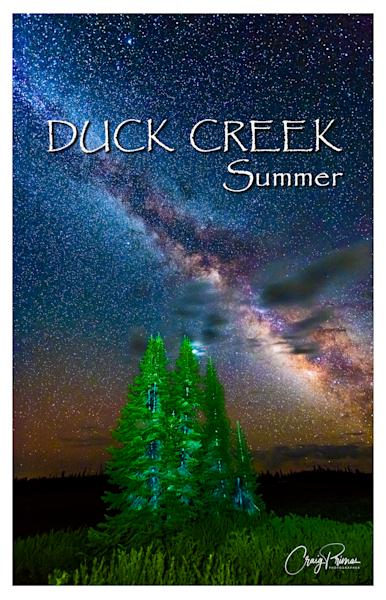 Duck Creek Summer Poster Photography Art | Craig Primas Photography