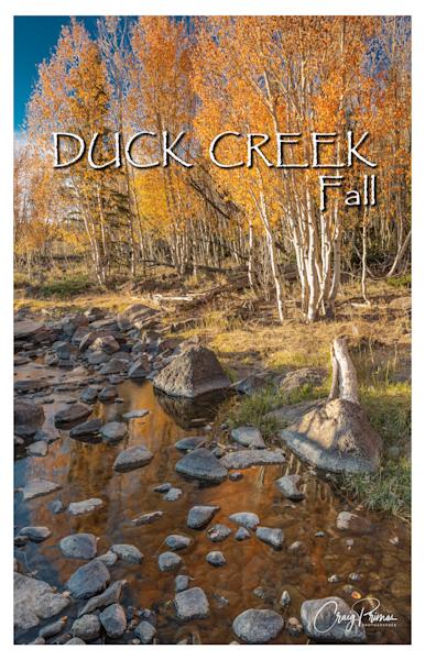 Duck Creek Fall Poster Photography Art | Craig Primas Photography