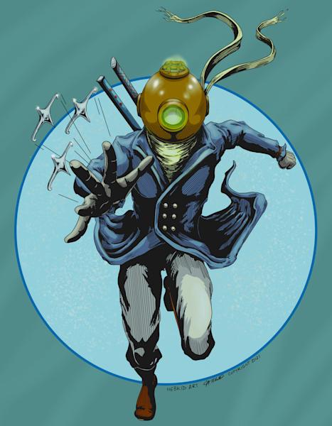 The Captain aka: The Deep Sea Ninja