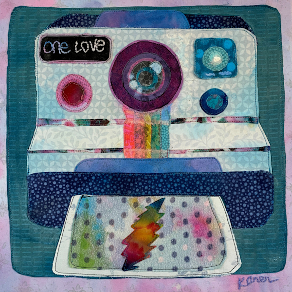 One Love Polaroid Art | Karen Payton Art