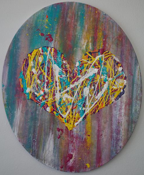 Open Your Heart Art | The HeArt Painter