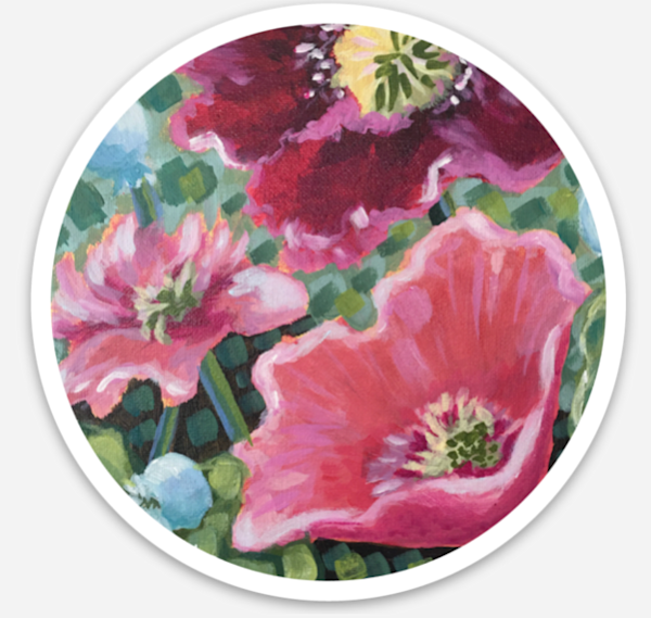 Earth Song Sticker Art | Kristin Webster Art Studio