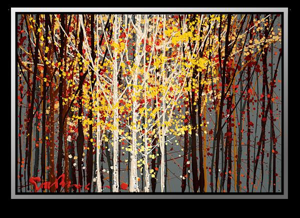 "Simon Bull Available Original Painting - ""Sunlight + Shadow"""
