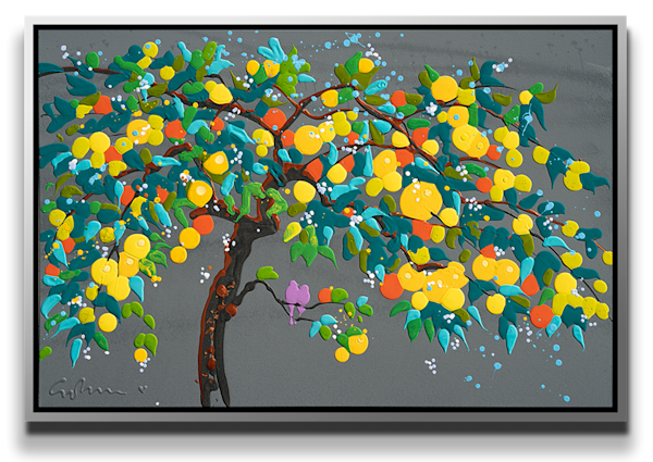 "Simon Bull Available Original Painting - ""Citrus Fruit"""