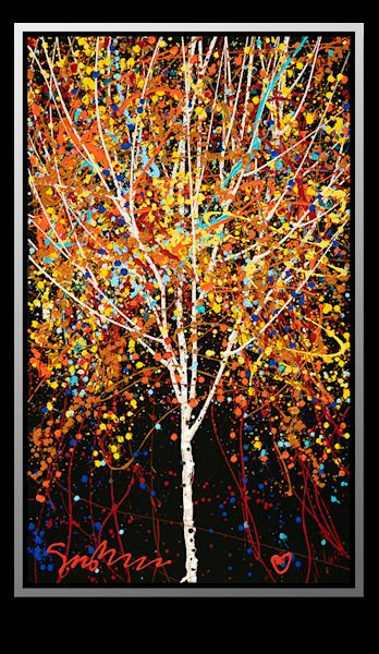 "Simon Bull Available Original Painting - ""Little Tree"""