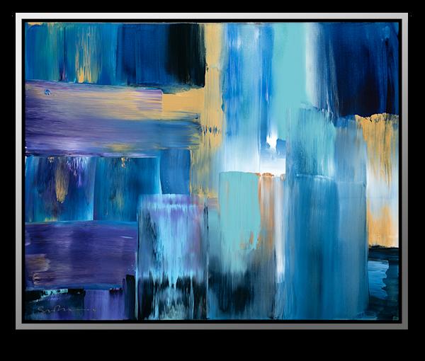 "Simon Bull Available Original Painting - ""Surf"""