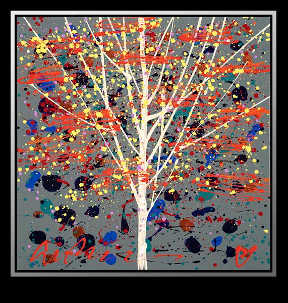 """Simon Bull Available Original Painting - """"Storyteller"""""""