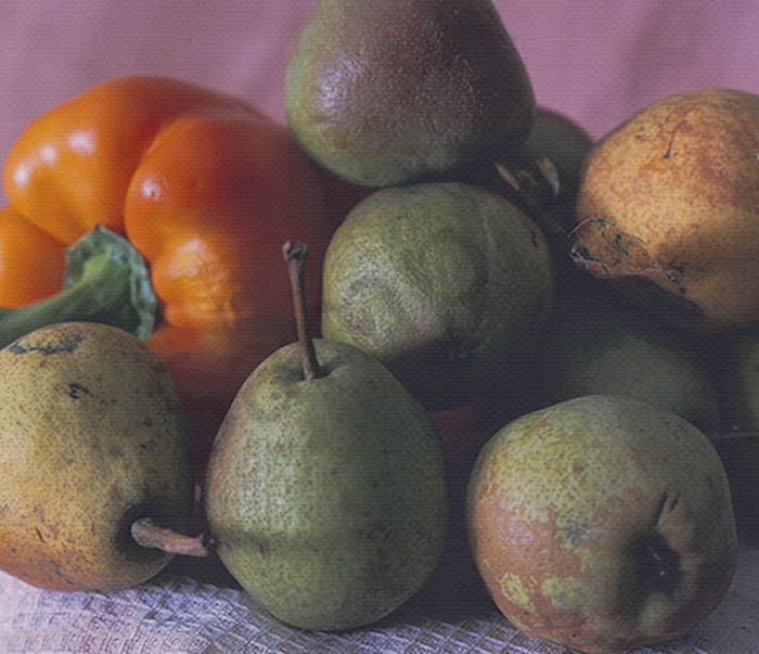 Pears and Pepper