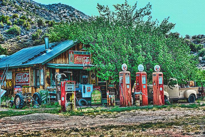Taos Gas Station, Taos, NM