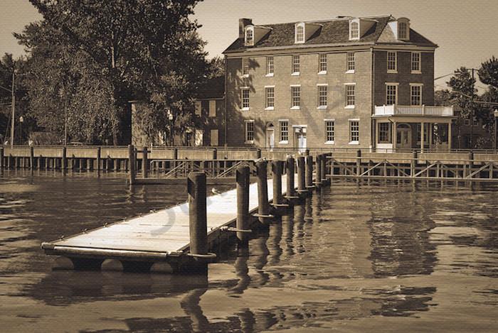 Delaware City Dock Landscape Photo Wall Art