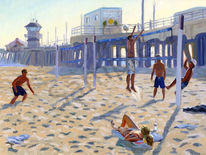 Huntington Volleyball on the Beach
