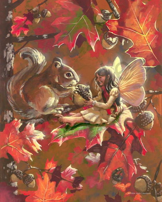 Squirrel Fae