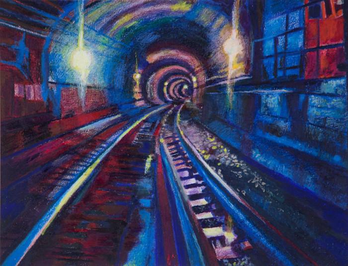 Architecture of NYC Subway Art