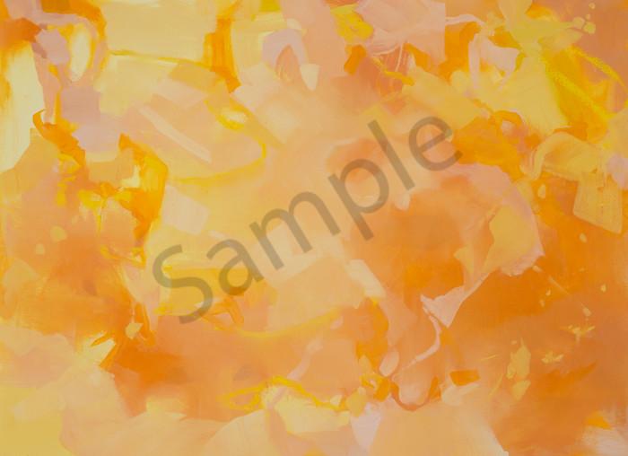 Tender Warmth horizontal format painting