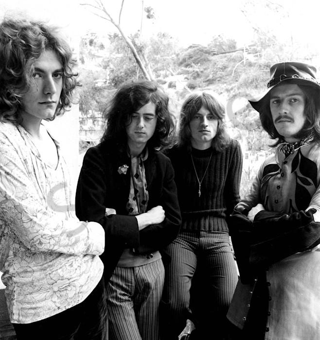 Led Zeppelin, Los Angeles