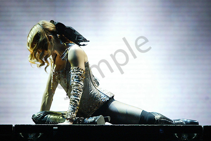 Madonna at the Madison Square Garden