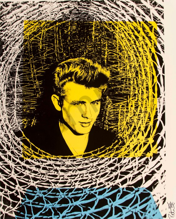 Fine art photograph a peter tunny photo. James Dean portrait